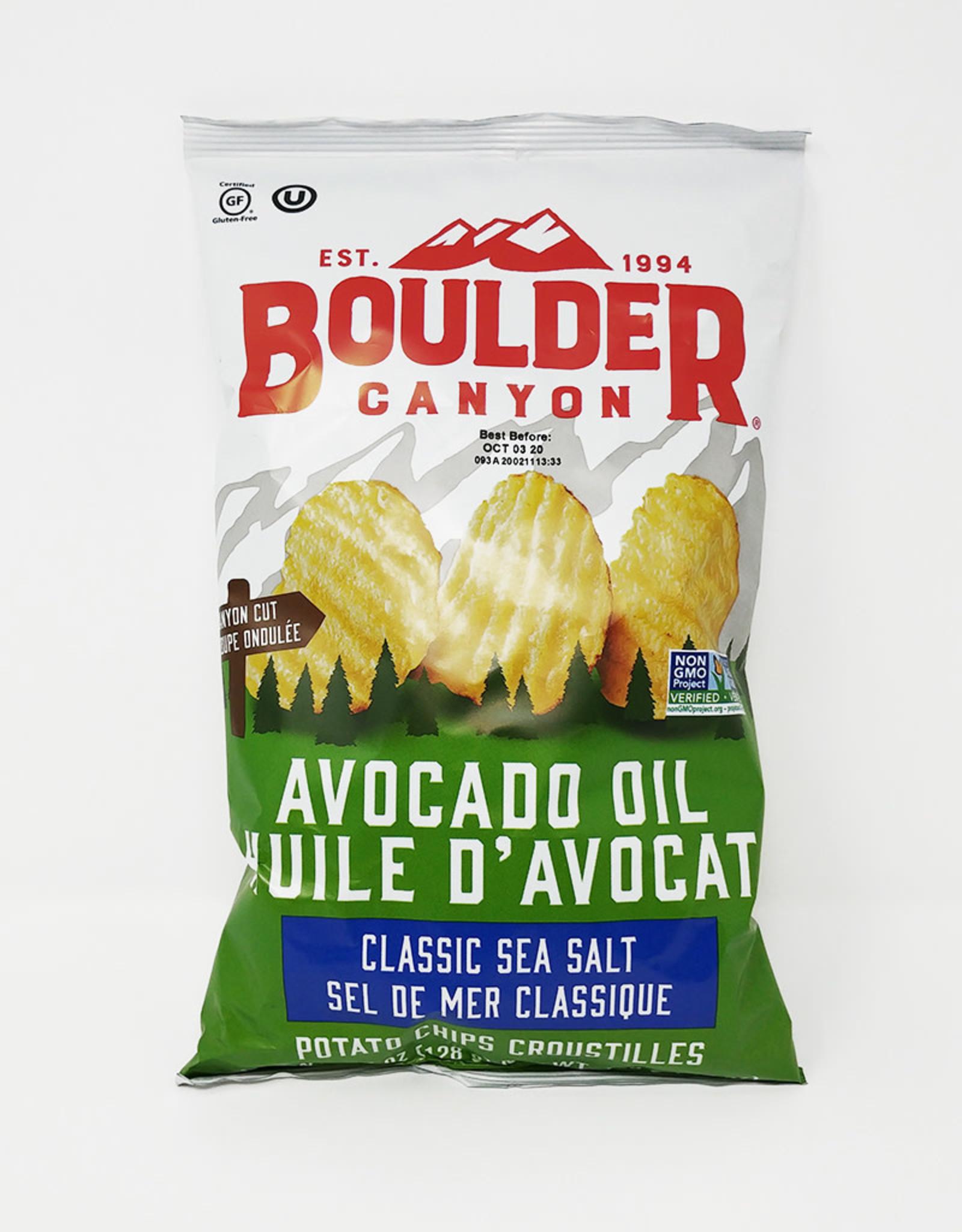 Boulder Canyon Boulder Canyon - Chips, Avocado Oil with Sea Salt
