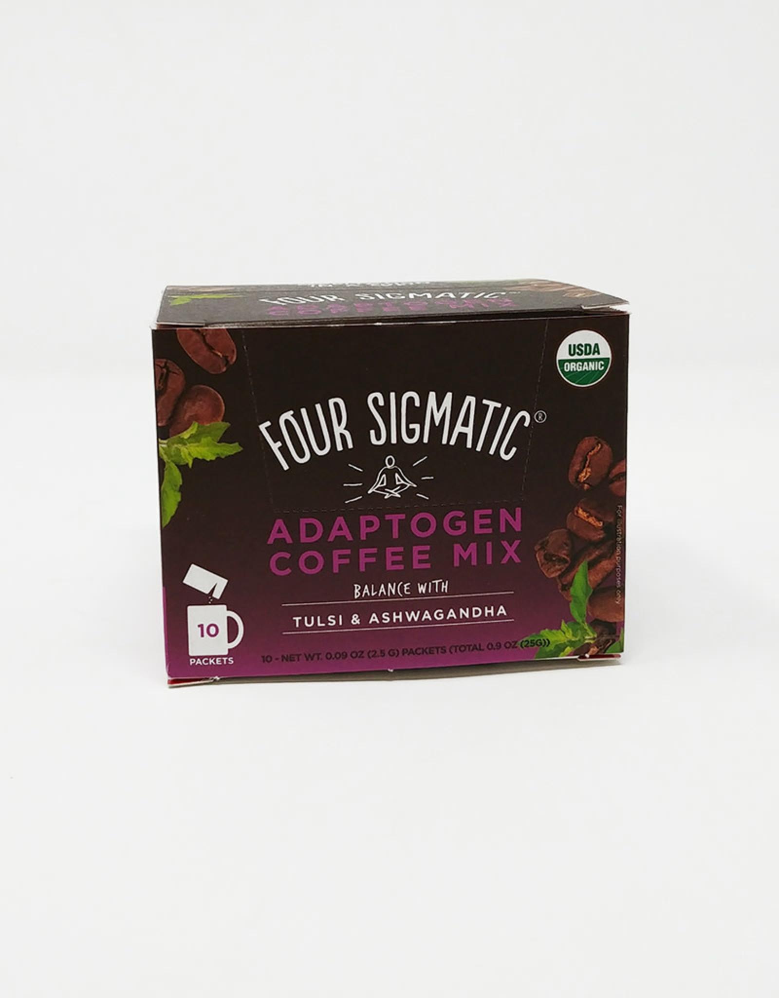 Four Sigmatic Four Sigmatic - Mushroom Coffee, Adaptogen (Box of 10)