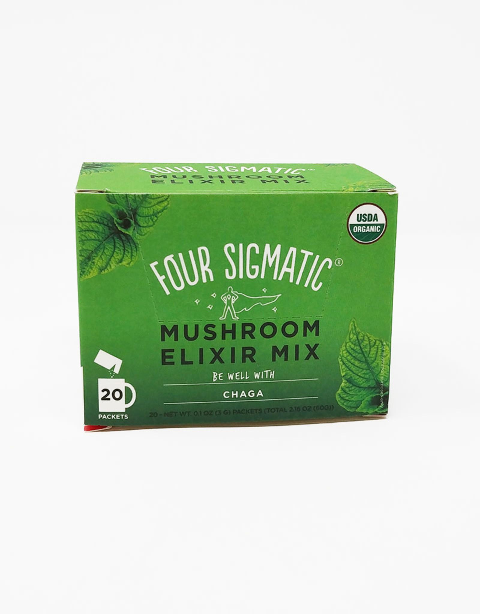 Four Sigmatic Four Sigmatic - Mushroom Elixir, Instant Chaga (Box of 20)