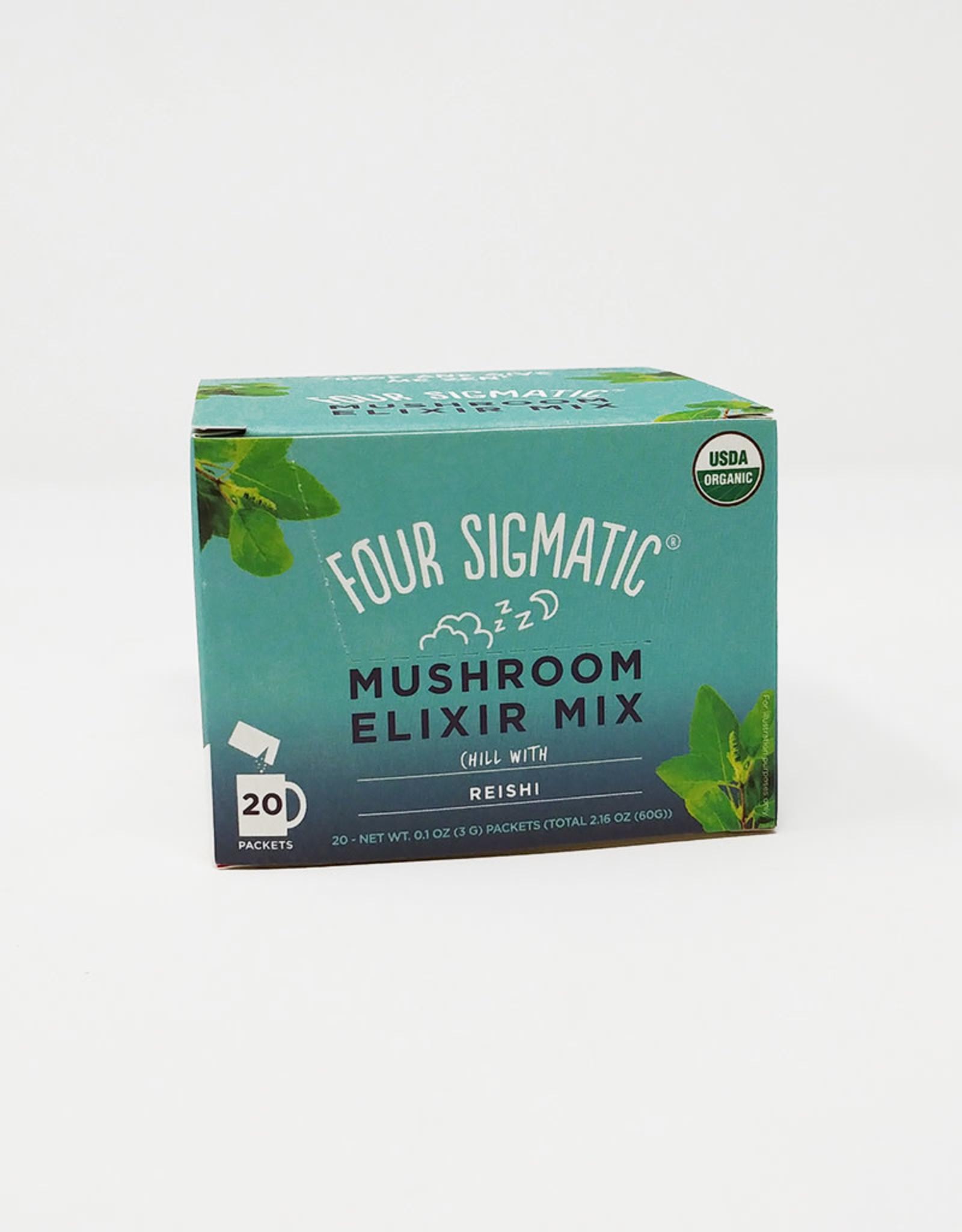 Four Sigmatic Four Sigmatic - Mushroom Elixir, Instant Reishi (Box of 20)