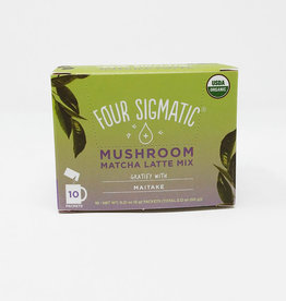 Four Sigmatic Four Sigmatic - Mushroom Latte Mix, Matcha (Box of 10)