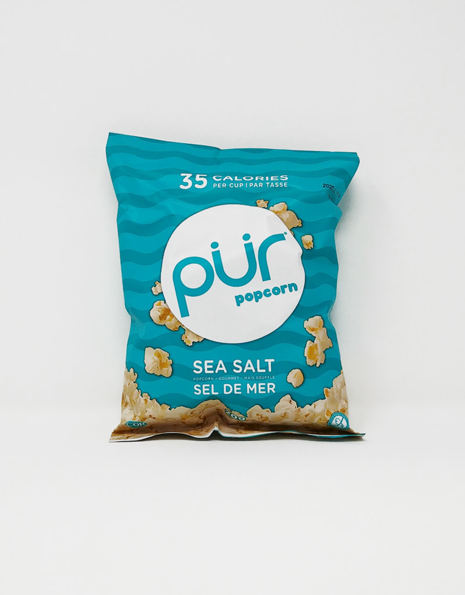 PUR PUR - Popcorn, Sea Salt (SINGLE SERVE) (20g)
