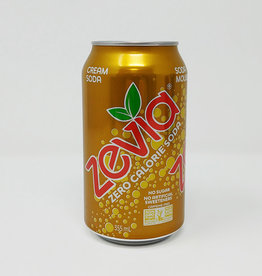 Zevia Soda Zevia - Soda, Cream Soda (355ml)
