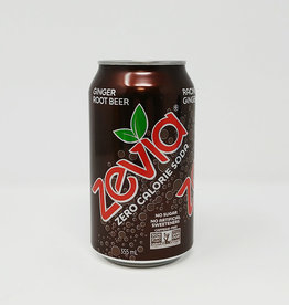 Zevia Soda Zevia - Soda, Ginger Root Beer (355ml)