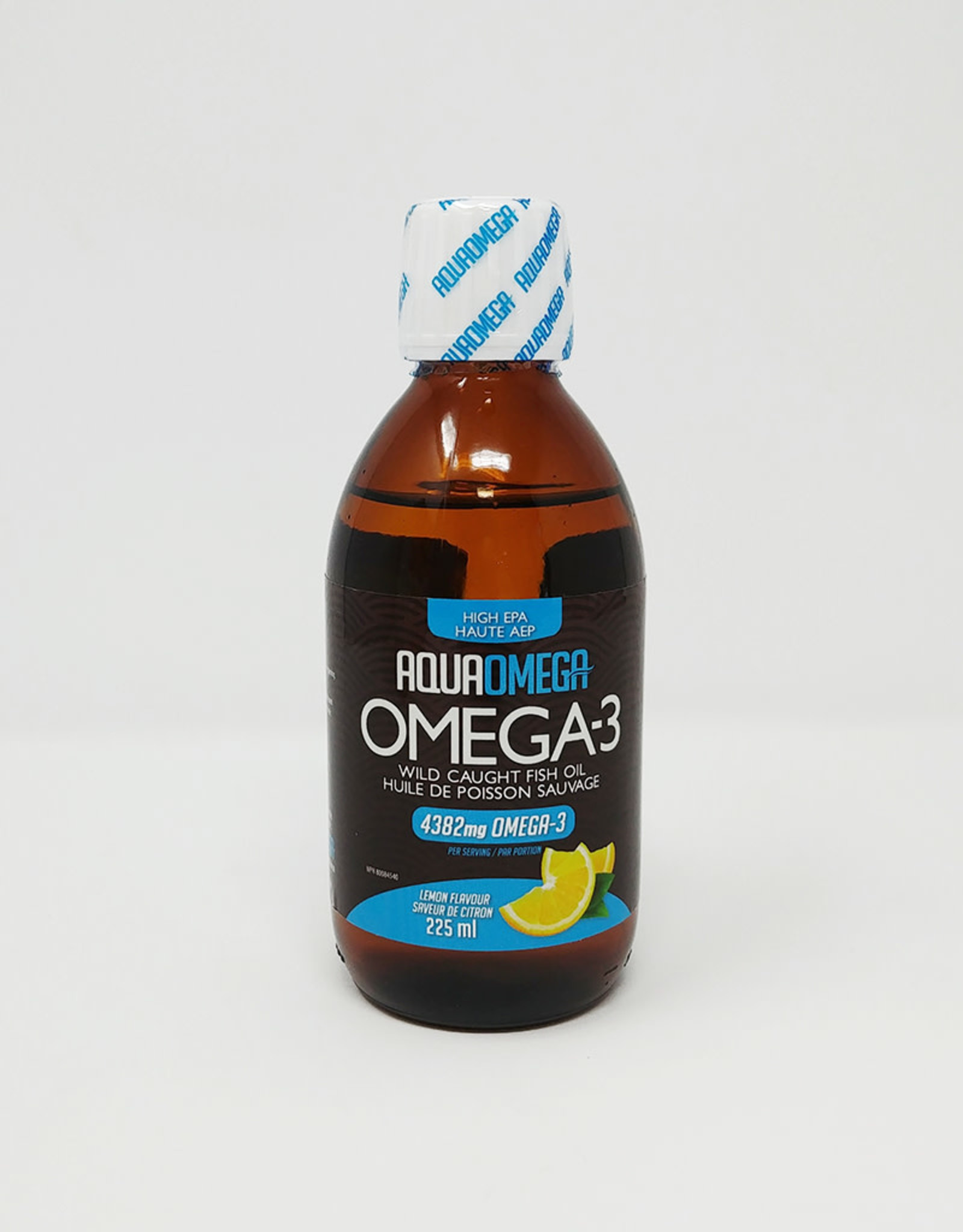 AquaOmega AquaOmega - Omega 3 - High EPA, Lemon Flavour (225ml)