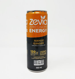 Zevia Soda Zevia - Energy Drink, Mango Ginger (355ml)