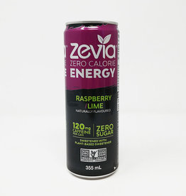 Zevia Soda Zevia - Energy Drink, Raspberry Lime (355ml)