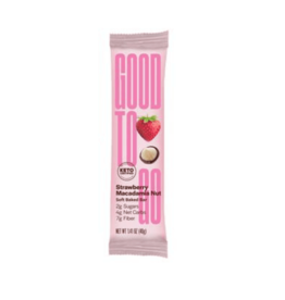 Good To Go Good To Go - Keto Bar, Strawberry Macadamia (40g)