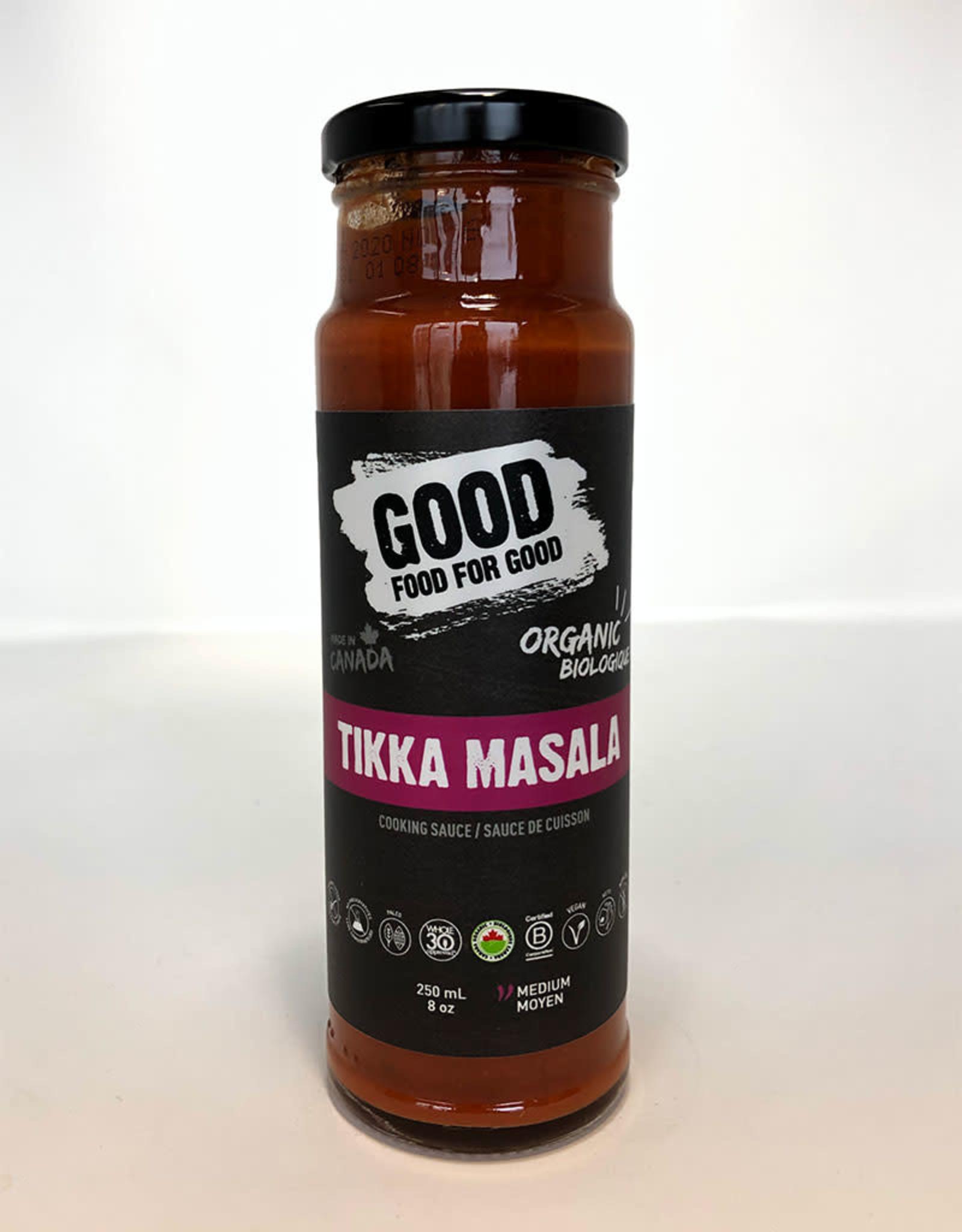 Good Food For Good Good Food For Good - Sauce, Tikka Masala