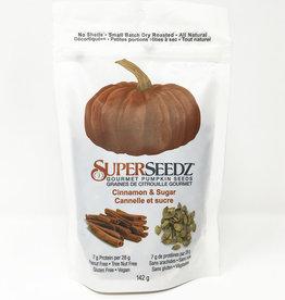 Superseedz Superseedz - Gourmet Pumpkin Seeds, Cinnamon & Sugar (142g)