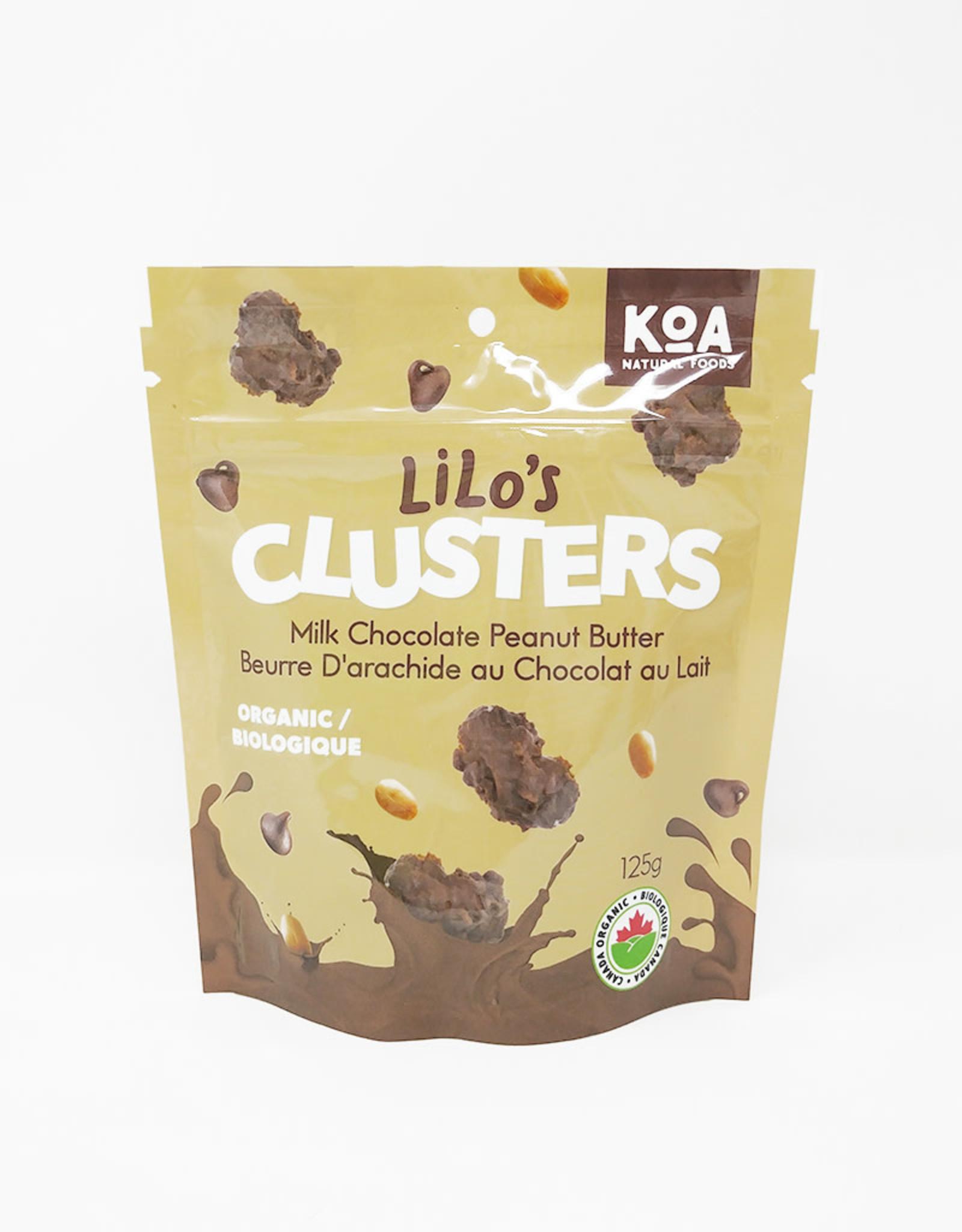 Lilo & Co. Lilo & Co. - Clusters, Milk Chocolate Peanut Butter