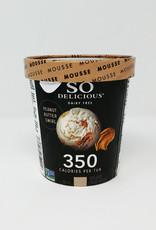 So Delicious So Delicious - Frozen Mousse, Peanut Butter Swirl  (500ml)