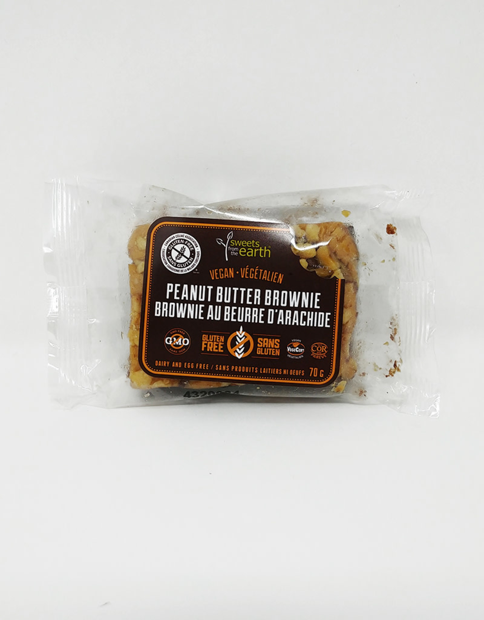 Sweets From The Earth Sweets From The Earth - GF Peanut Butter Brownie (70g)