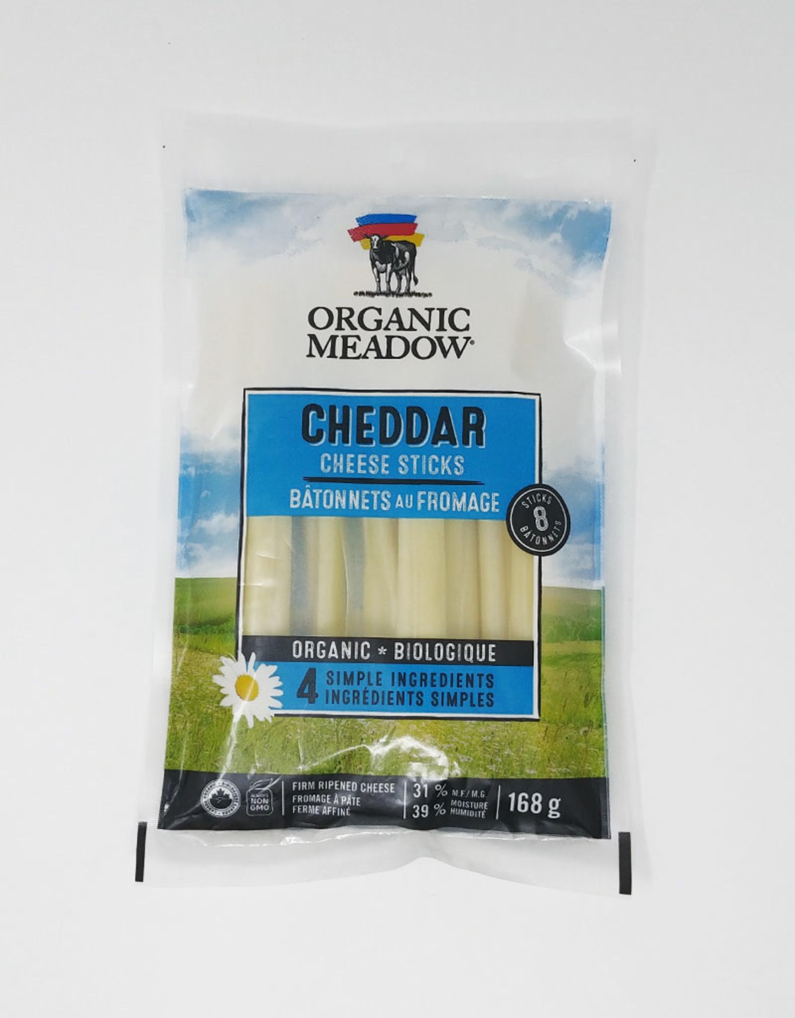 Organic Meadow Organic Meadow - Cheese Sticks, Mild Cheddar (168g)