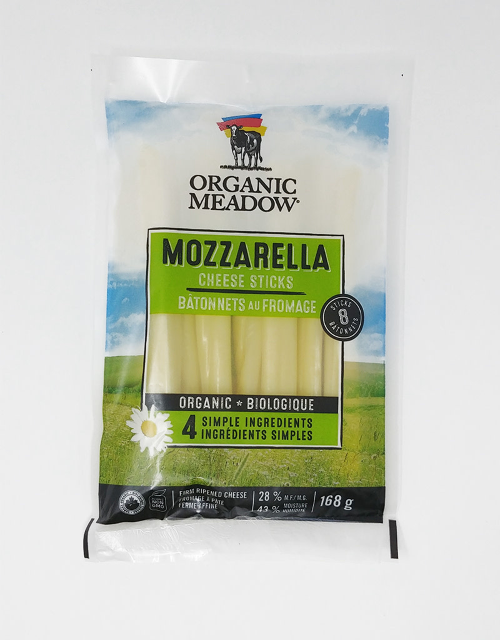 Organic Meadow Organic Meadow - Cheese Sticks, Mozzarella (168g)