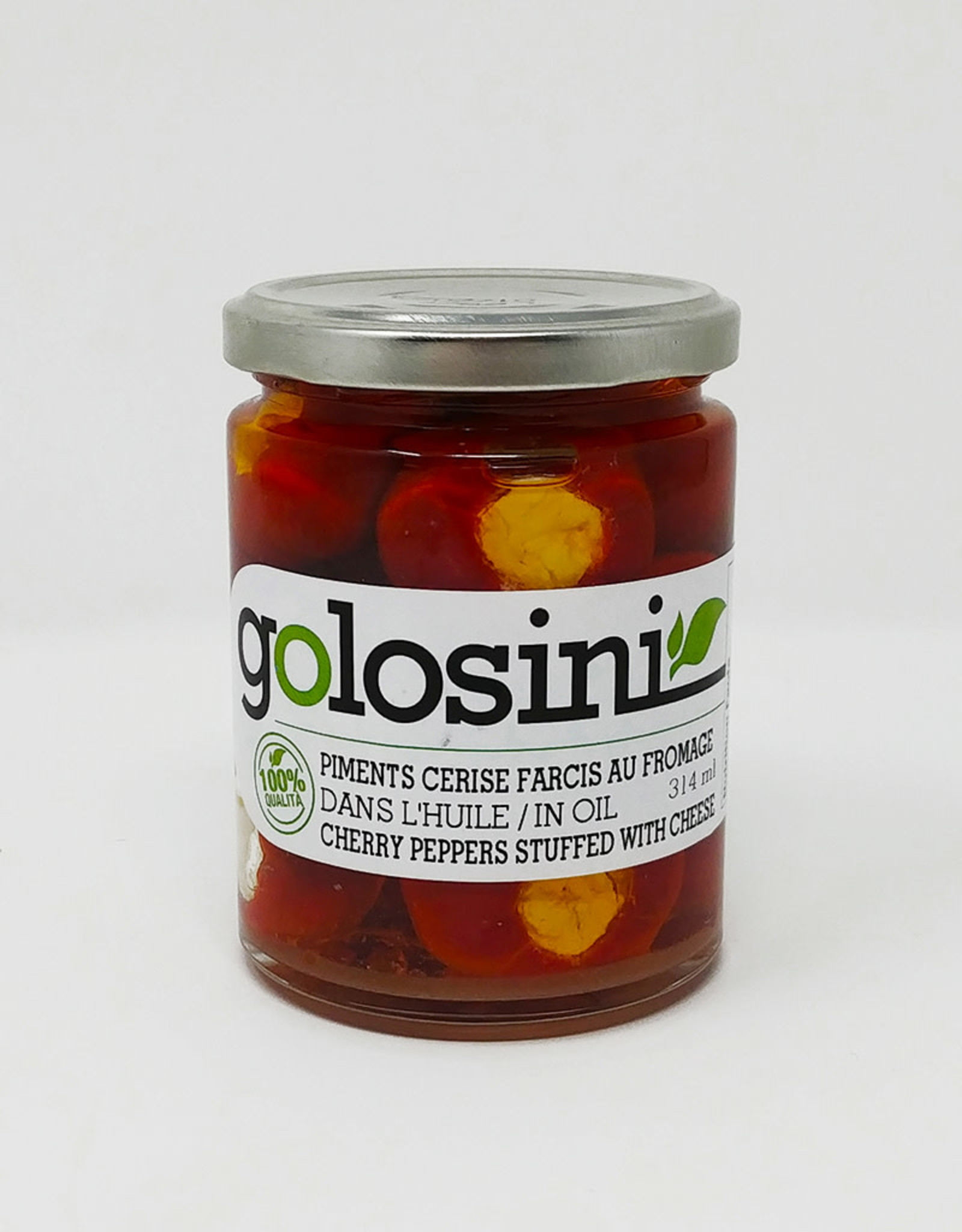 Golosini Golosini - Hot Peppers Stuffed with Cheese (314ml)