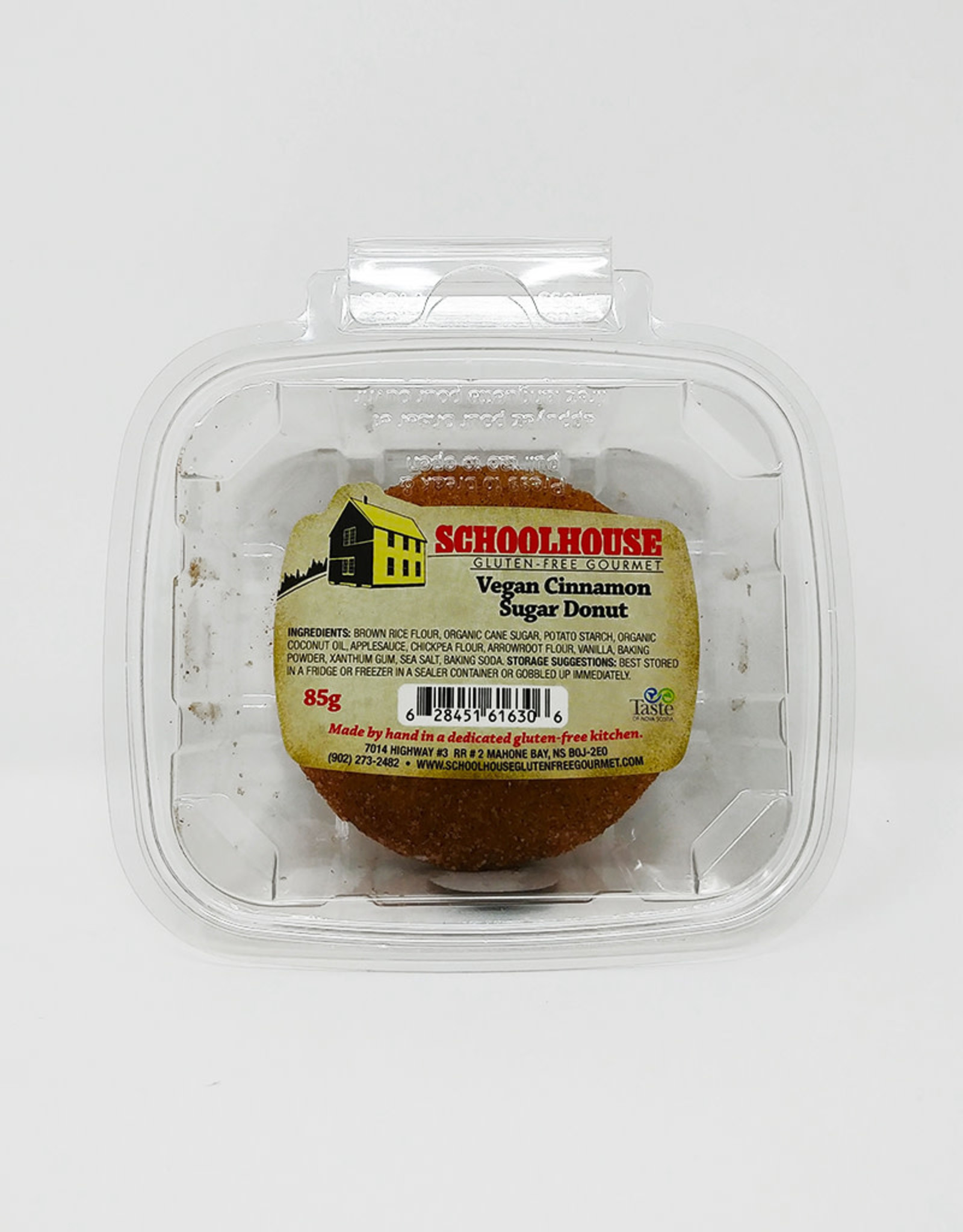 Schoolhouse Gluten-Free Gourmet SchoolHouse Vegan Cinnamon Sugar Doughnut