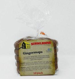 Schoolhouse Gluten-Free Gourmet Schoolhouse - Gluten Free Cookies, Gingersnap (10pk)