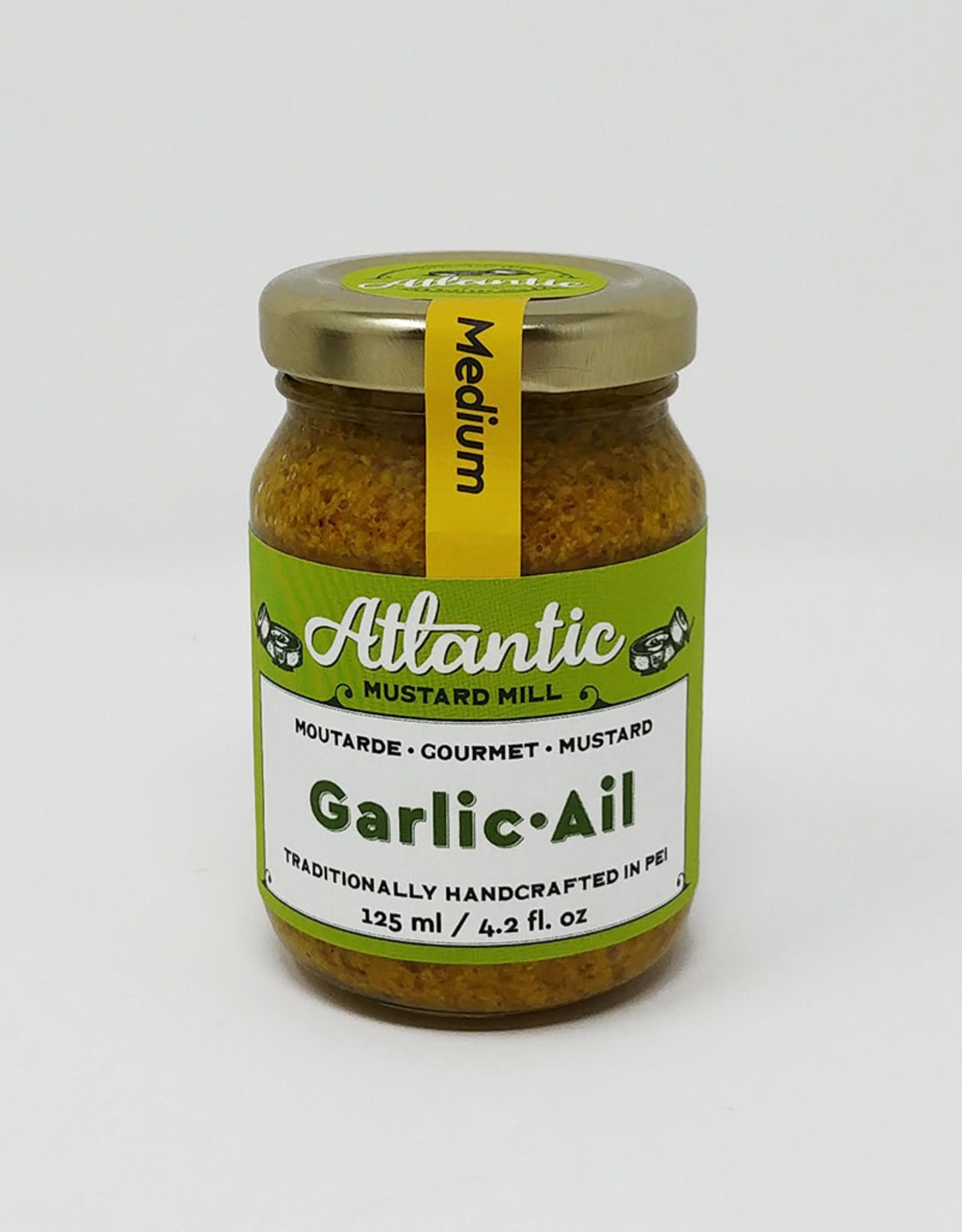 Atlantic Mustard Mill Atlantic Mustard Mill - Mustard, Garlic (125ml)