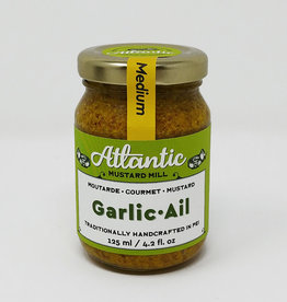 Atlantic Mustard Mill Atlantic Mustard Mill - Mustard, Garlic (125ml)