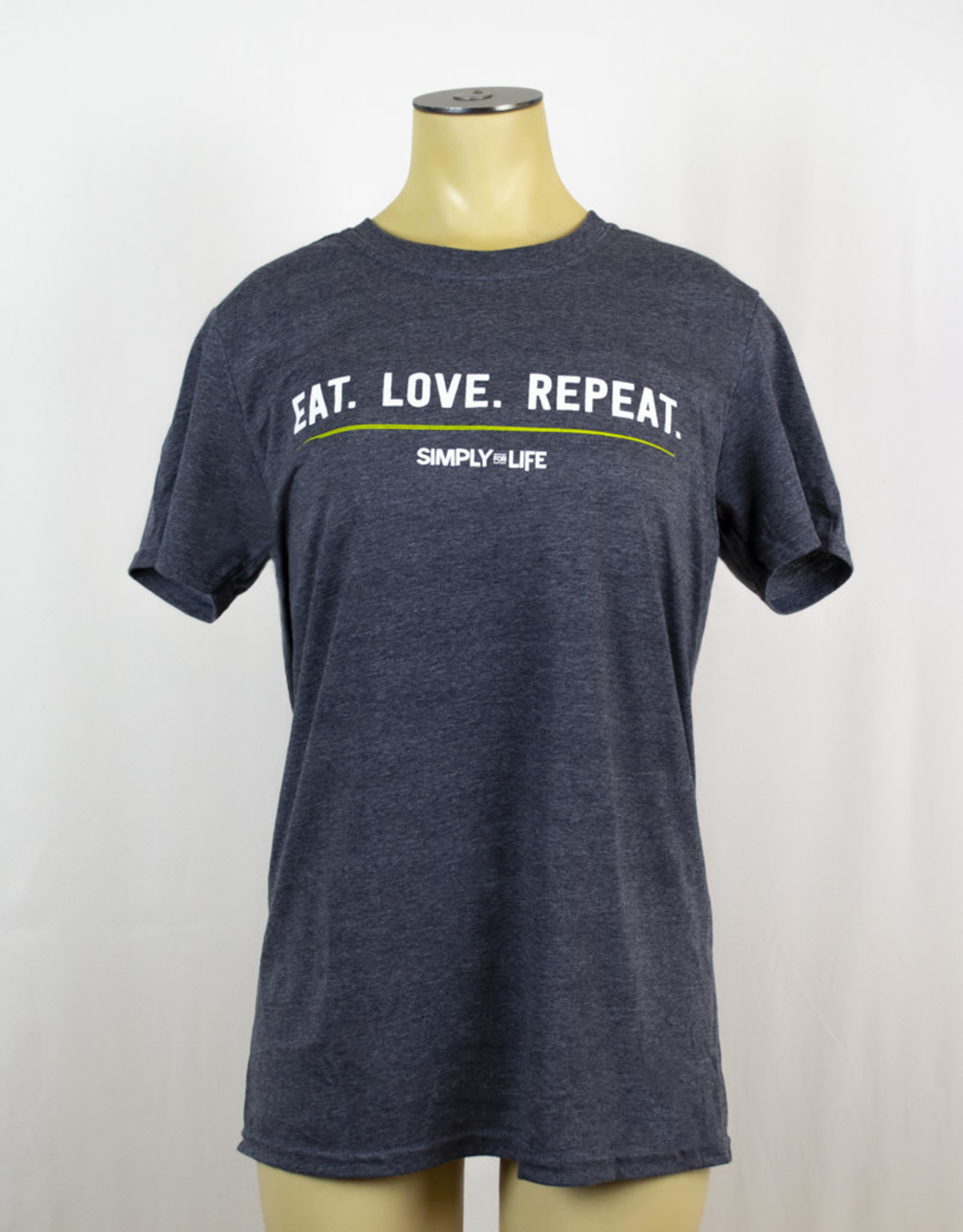 Simply For Life T-Shirt Crewneck - Eat Love Repeat