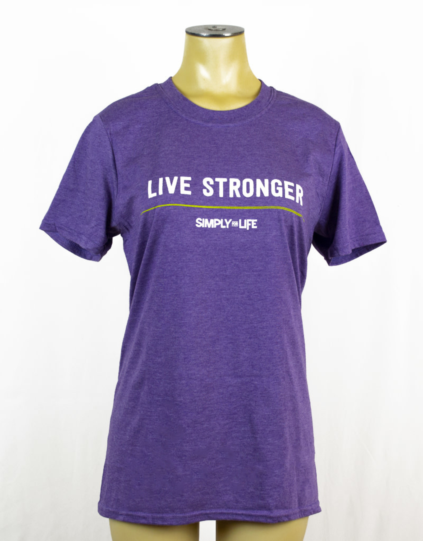 Simply For Life T-Shirt Crewneck - Live Stronger