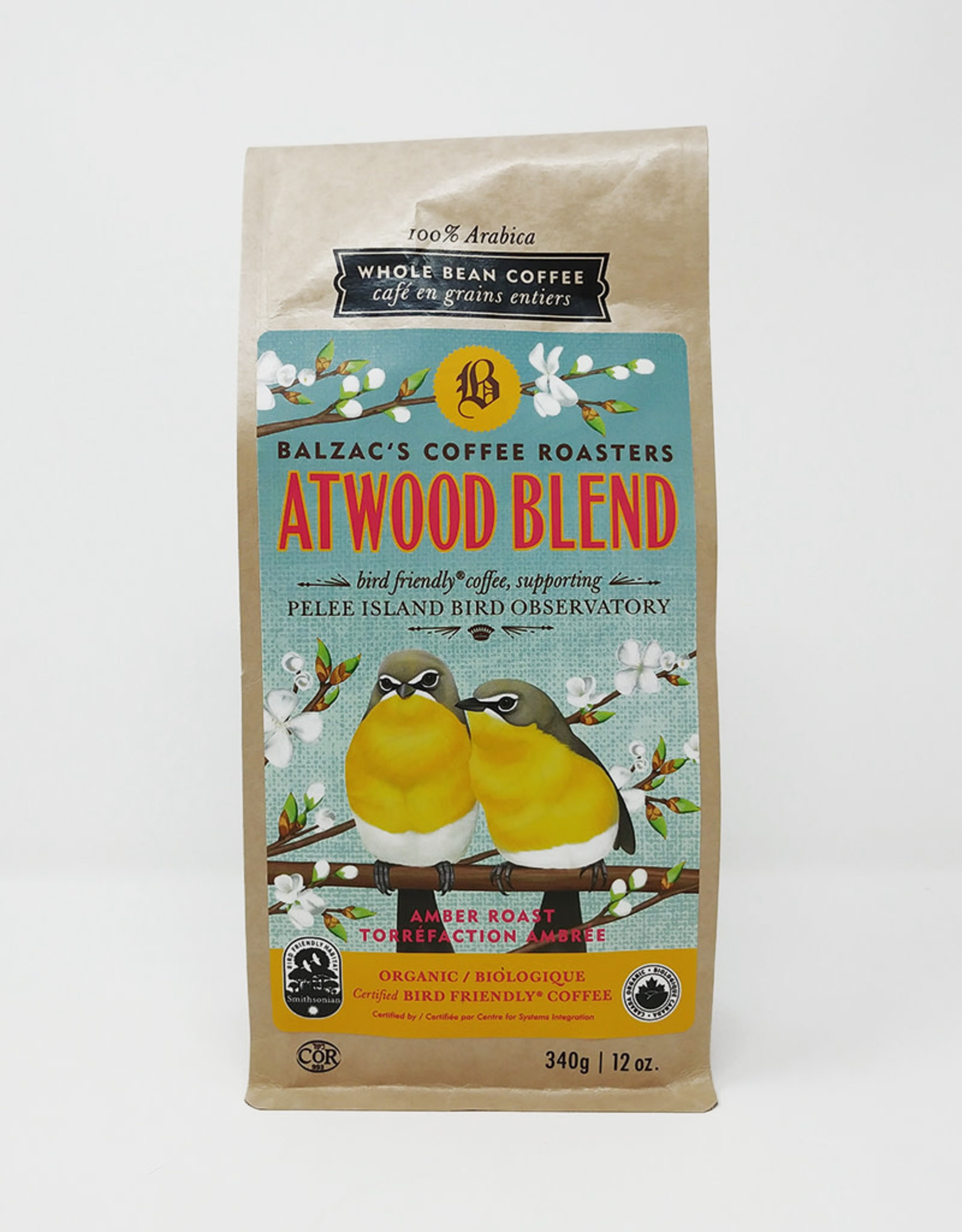 Balzac's Coffee Roasters Balzacs Coffee Roasters -  Atwood Blend (340g)