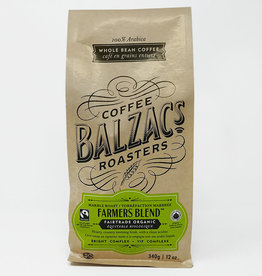 Balzac's Coffee Roasters Balzacs Coffee Roasters - Farmers Blend (340g bag)