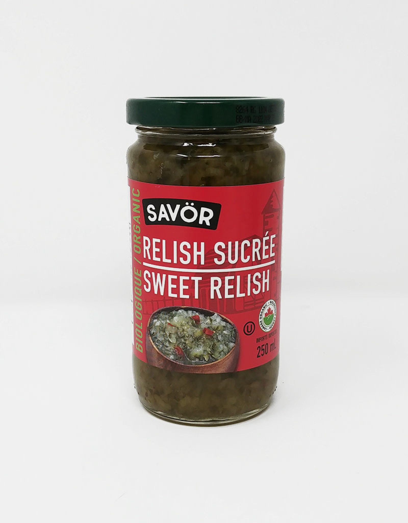 Savor Savor - Organic Sweet Relish (250ml)