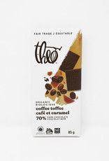 Theo Theo - Organic Chocolate Bars, Coffee Toffee