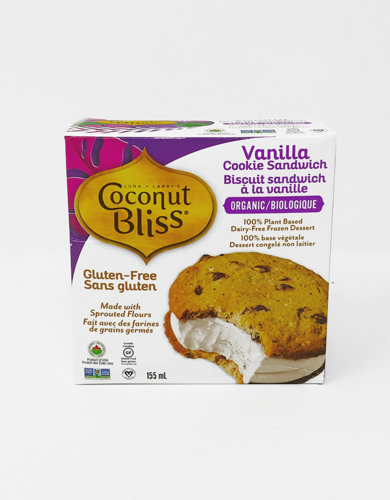 Coconut Bliss Coconut Bliss - Cookie Sandwich, Vanilla