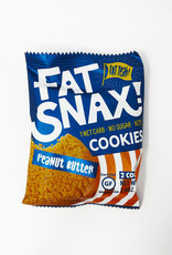 Fatsnax Fat Snax - Keto Cookie, Peanut Butter