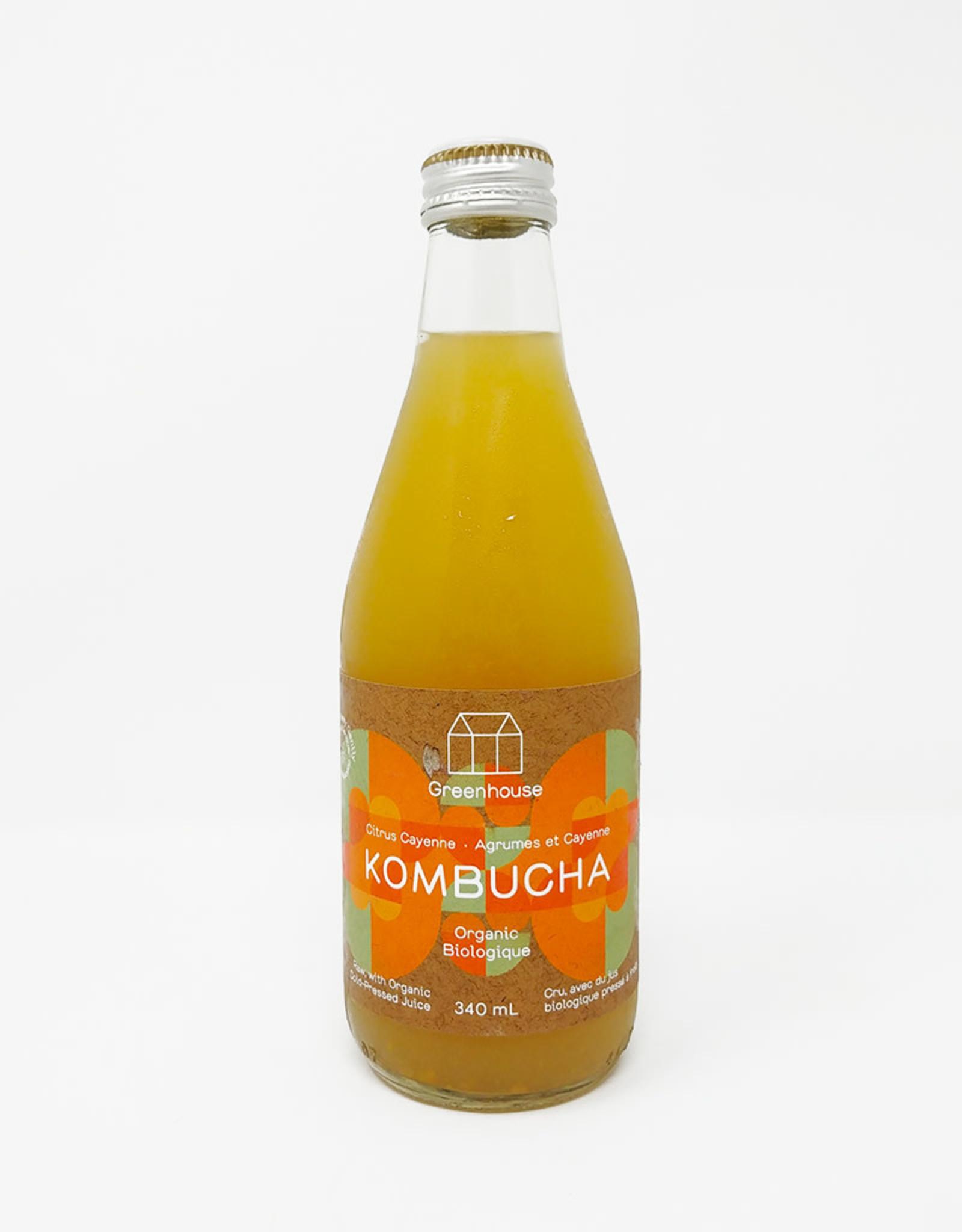 Greenhouse Greenhouse - Kombucha, Citrus Cayenne