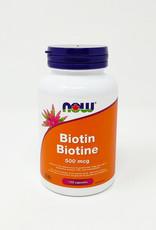 NOW Foods NOW Foods - Biotin 500mcg (120caps)