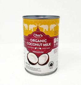 Cha's Organics Chas Organics - Premium Organic Coconut Milk (400ml)