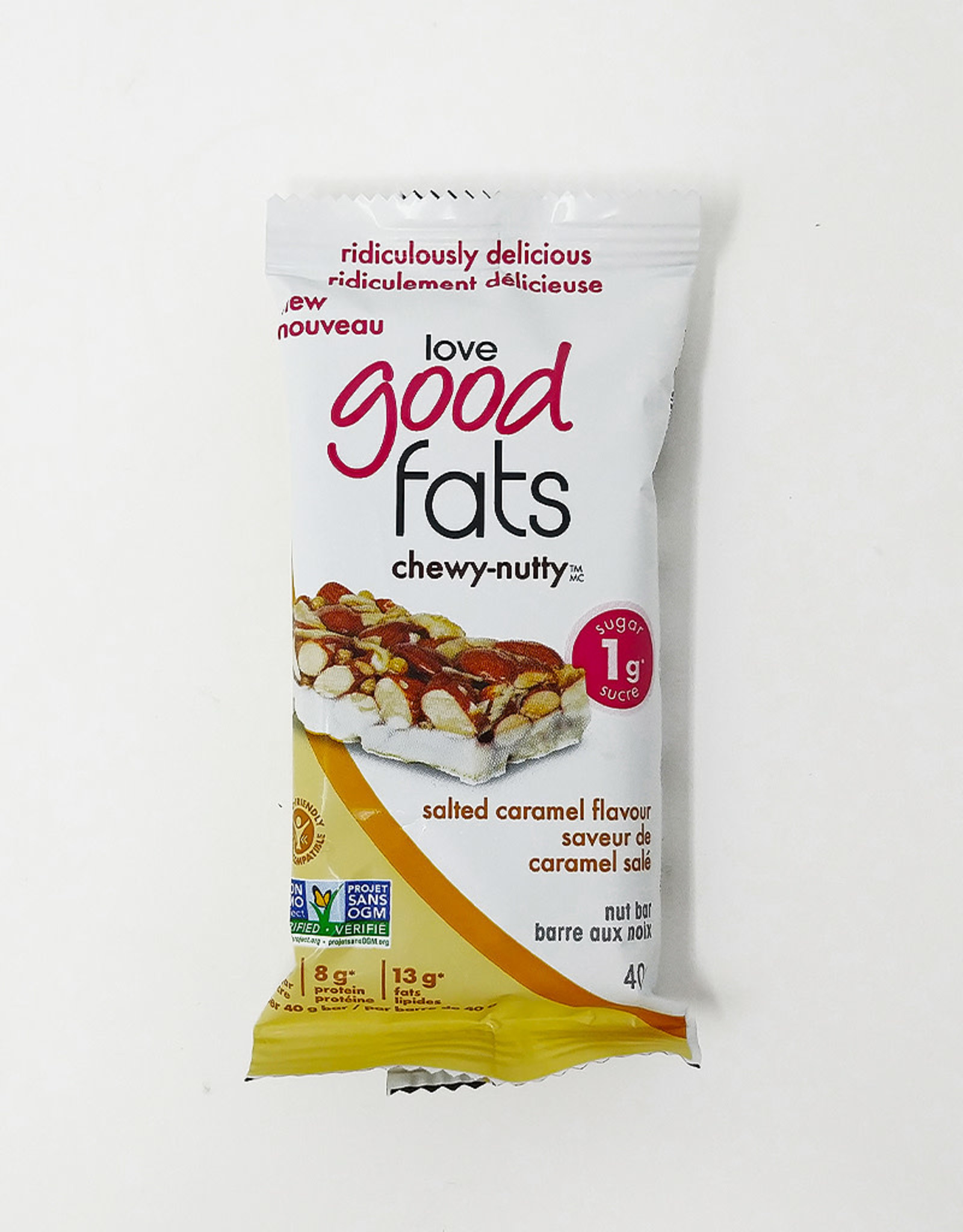 Love Good Fats Love Good Fats - Chewy-Nutty Salted Caramel (40g)