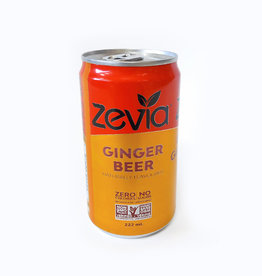 Zevia Soda Zevia - Mixer, Ginger Beer (single)