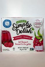 Simply Delish Simply Delish - Jell-O, Raspberry (20g)