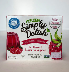 Simply Delish Simply Delish - Jell-O, Raspberry (20g)