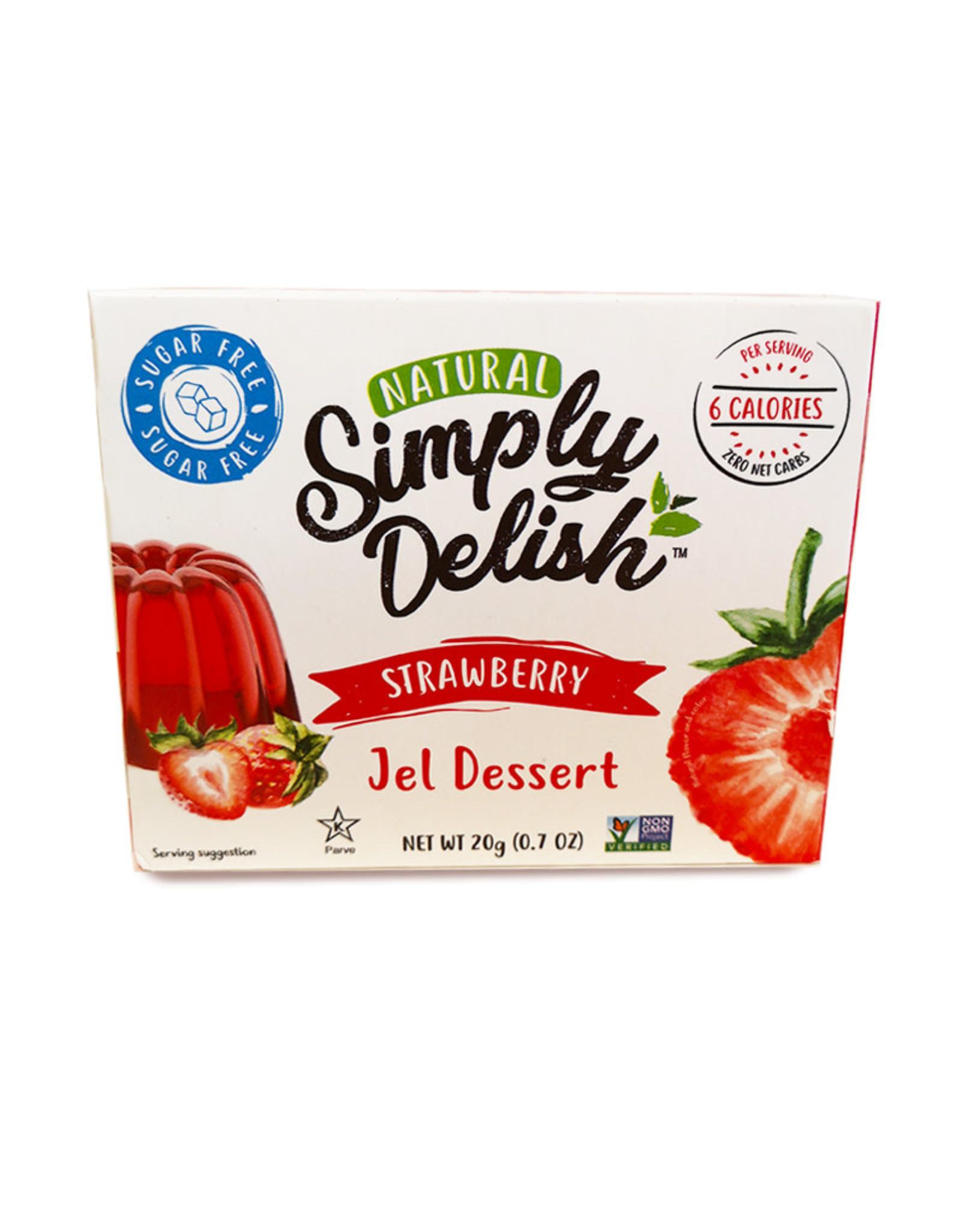 Simply Delish Simply Delish - Jell-O, Strawberry