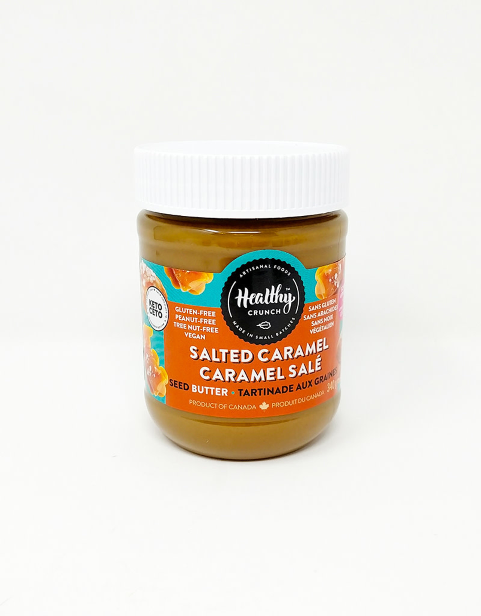 Healthy Crunch Healthy Crunch - Sunseed Butter, Salted Caramel (340g)