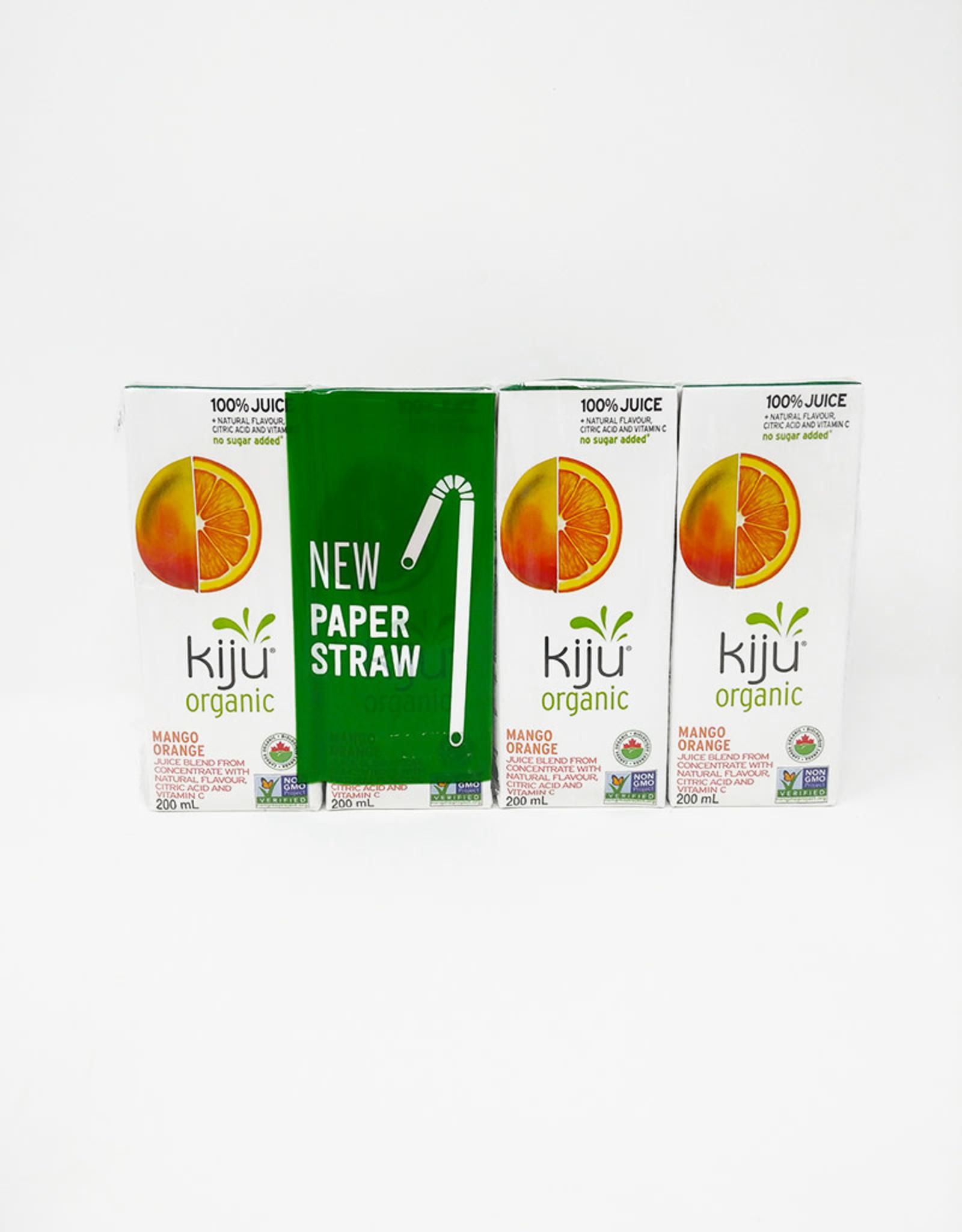 Kiju Kiju - Organic Juice, Mango Orange (4PK)