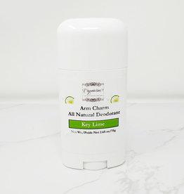Organicism Organicism - Arm Charm Deodorant, Key Lime