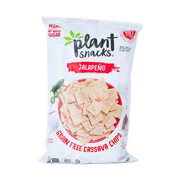 Plant Snacks Plant Snacks - Cassava Root Chips, Jalapeno