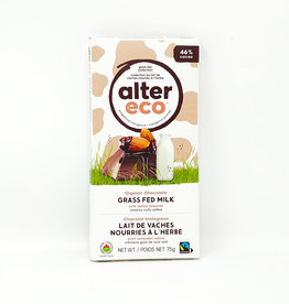 Alter Eco Alter Eco - Grass Fed Chocolate Bars, Salted Almond