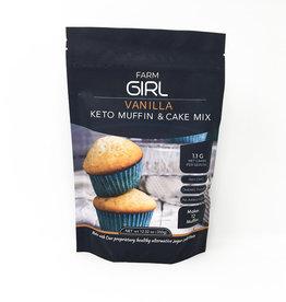 Farm Girl Farm Girl - Keto Muffin & Cake Mix, Vanilla (350g)