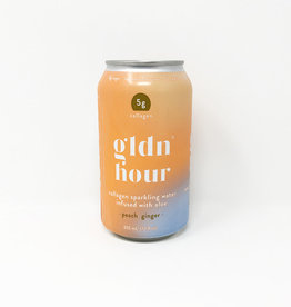 Gldn Hour Gldn Hour - Collagen Water, Peach Ginger (355ml)