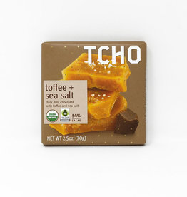 TCHO TCHO - Chocolate Bars, Toffee & Sea Salt