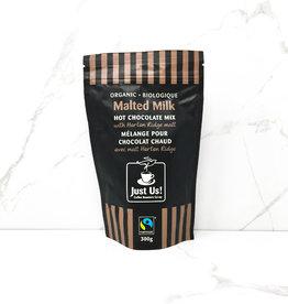 Just Us Coffee Just Us Coffee - Hot Chocolate, Malted Milk (300g)