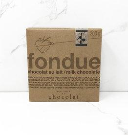 Galerie Au Chocolat Galerie Au Chocolat - Fondue, Milk Chocolate